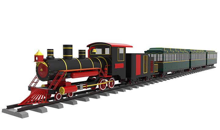 Vintage Style Railway Train I