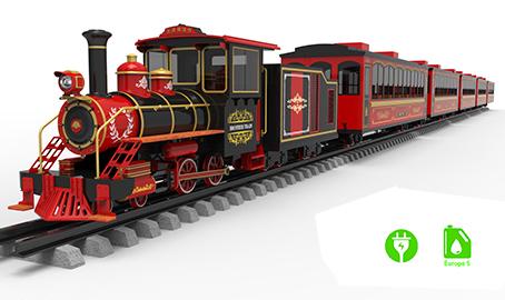 Vintage Style Railway Train V