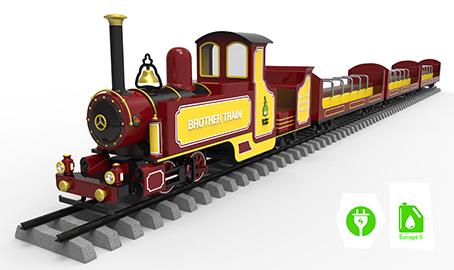 Mini rail trains riding style